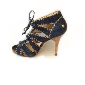 Boutique 9 Suede Lace Up Heel